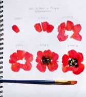 33 + Most Popular Ways To Watercolor Paintings Easy Step By Step Flower 13