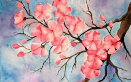 33 + Most Popular Ways To Watercolor Paintings Easy Step By Step Flower 34