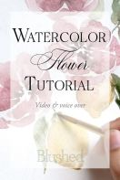 33 + Most Popular Ways To Watercolor Paintings Easy Step By Step Flower 38