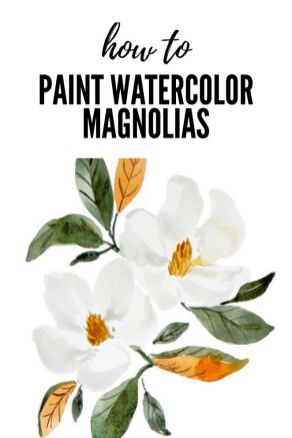 33 + Most Popular Ways To Watercolor Paintings Easy Step By Step Flower 41