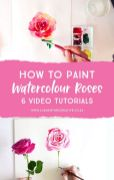 33 + Most Popular Ways To Watercolor Paintings Easy Step By Step Flower 60