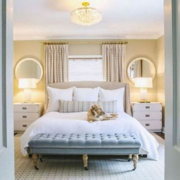 45+ Outstanding Millennial Small Master Bedroom Ideas On A Budget Diy Decor 42