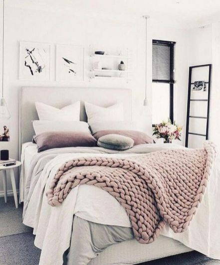 45+ Outstanding Millennial small master bedroom ideas on a budget ...