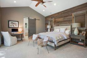50+ Unbelievable Master Bedroom Ideas Rustic Farmhouse Style Decor 15