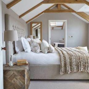 50+ Unbelievable Master Bedroom Ideas Rustic Farmhouse Style Decor 24