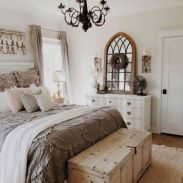 50+ Unbelievable Master Bedroom Ideas Rustic Farmhouse Style Decor 27