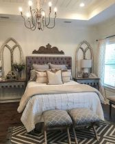 50+ Unbelievable Master Bedroom Ideas Rustic Farmhouse Style Decor 34