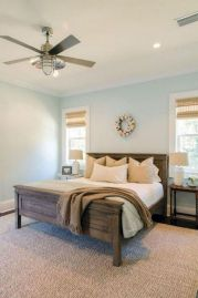 50+ Unbelievable Master Bedroom Ideas Rustic Farmhouse Style Decor 40