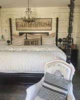 50+ Unbelievable Master Bedroom Ideas Rustic Farmhouse Style Decor 59