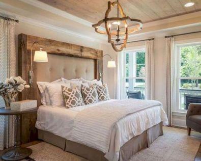 50+ Unbelievable Master Bedroom Ideas Rustic Farmhouse Style Decor 6