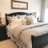 50+ Unbelievable Master Bedroom Ideas Rustic Farmhouse Style Decor 83
