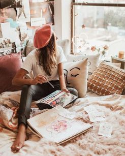 The One Thing To Do For Art Hoe Aesthetic Bedrooms 86