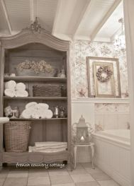 The Secret To French Country Bathroom 113