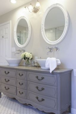 The Secret To French Country Bathroom 59