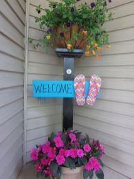 The War Against Welcome Sign Front Door 241