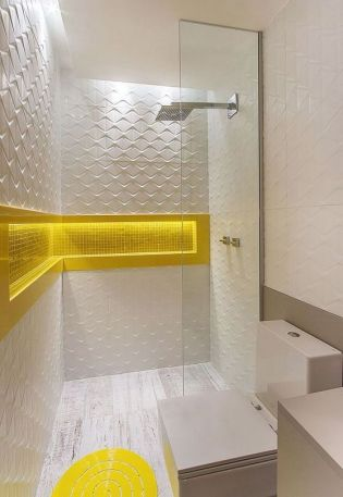 35+ The Appeal Of Yellow Bathroom Decor 100