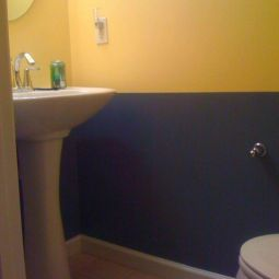 35+ The Appeal Of Yellow Bathroom Decor 107