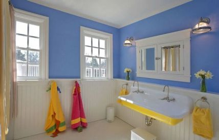 35+ The Appeal Of Yellow Bathroom Decor 227