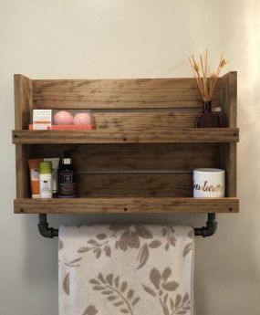 36+ Floating Shelves For Bathroom Reviews & Guide 58
