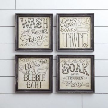 37+ All About Diy Home Decor Dollar Store Bathroom Wall Art 12