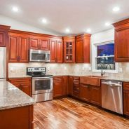 40+ Cherry Wood Kitchen Cabinets Options 222