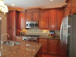 40+ Cherry Wood Kitchen Cabinets Options 257