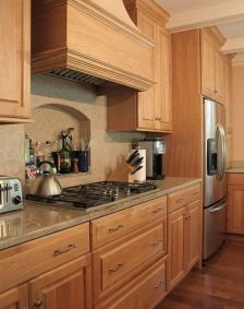40+ Cherry Wood Kitchen Cabinets Options 33