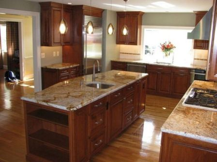 40+ Cherry Wood Kitchen Cabinets Options 40