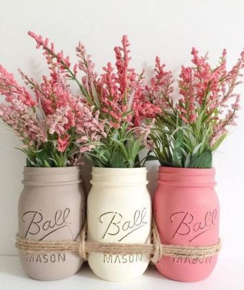 40+ Farmhouse Floral Arrangement , Ideas 164