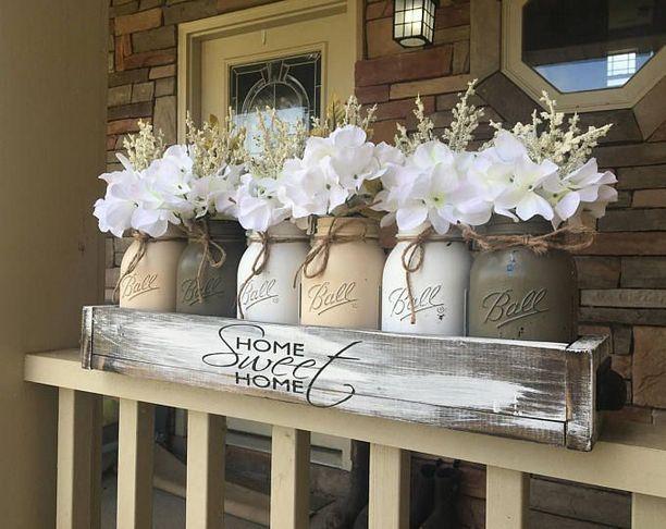 40+ Farmhouse Floral Arrangement , Ideas 206