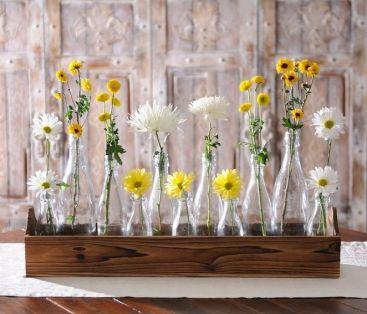 40+ Farmhouse Floral Arrangement , Ideas 227
