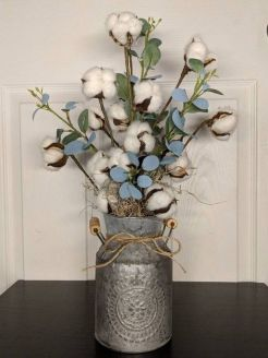 40+ Farmhouse Floral Arrangement , Ideas 23