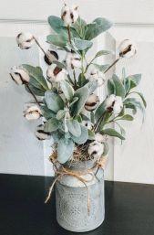 40+ Farmhouse Floral Arrangement , Ideas 29