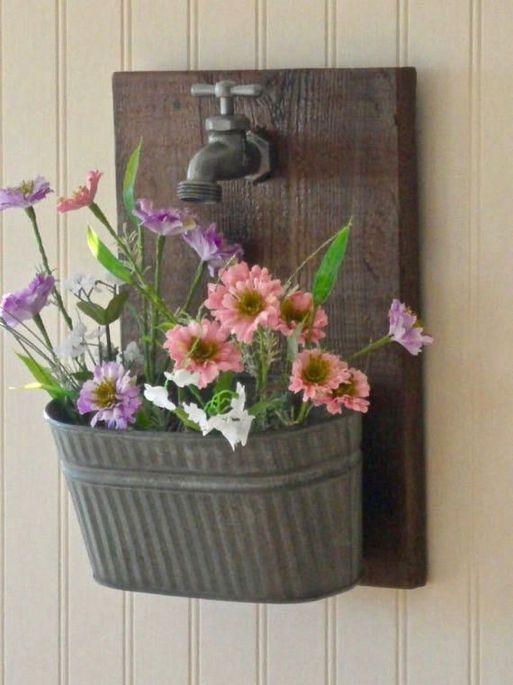 40+ Farmhouse Floral Arrangement , Ideas 4