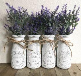 40+ Farmhouse Floral Arrangement , Ideas 59