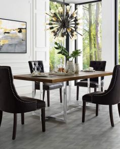 35+ Hendrix Dining Chair Damask Features 219