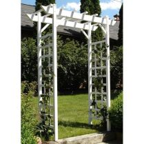 35+ Top Guide Of Metal Garden Arbor Trellis With Gate Scroll Design Arch Climbing Plants 64