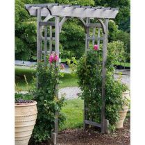 35+ Top Guide Of Metal Garden Arbor Trellis With Gate Scroll Design Arch Climbing Plants 92