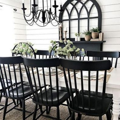 37+ Instant Solutions For Farmhouse Dinning Room 18
