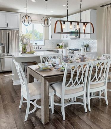37+ Instant Solutions For Farmhouse Dinning Room 183