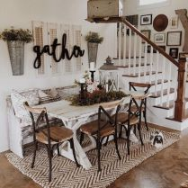 37+ Instant Solutions For Farmhouse Dinning Room 227