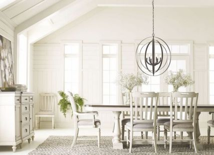 37+ Instant Solutions For Farmhouse Dinning Room 53