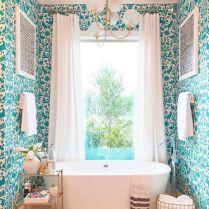 37+ Top Bathroom Drapery Ideas Secrets 131