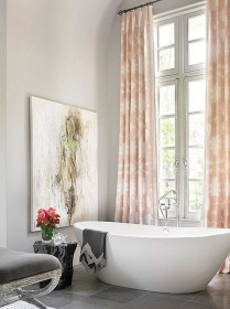 37+ Top Bathroom Drapery Ideas Secrets 495