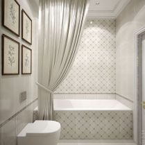 37+ Top Bathroom Drapery Ideas Secrets 73