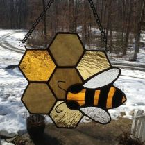 37+ Vital Pieces Of Stained Glass Home Design Ideas 120
