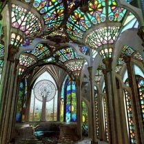 37+ Vital Pieces Of Stained Glass Home Design Ideas 189