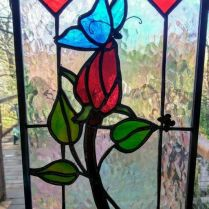 37+ Vital Pieces Of Stained Glass Home Design Ideas 316