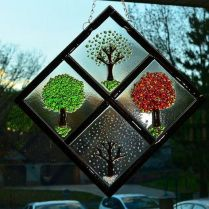 37+ Vital Pieces Of Stained Glass Home Design Ideas 86