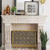 41+ What You Do Not Know About Fireplace Cover Frame May Shock You 184